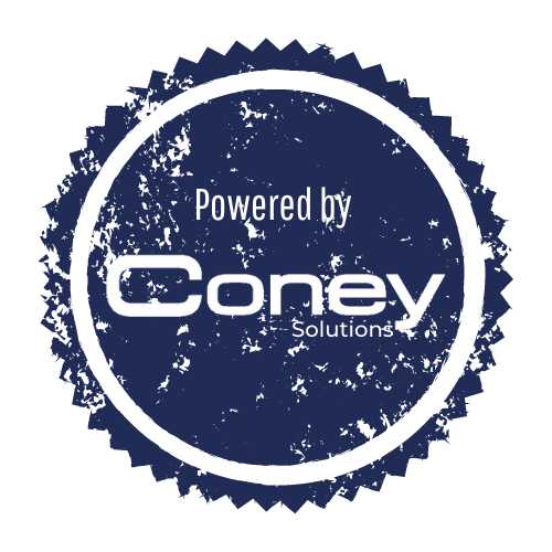 Logo Powered by Coney Solutions